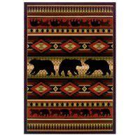 Native Bear Rugs