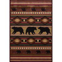 Toffee Native Bear Rugs