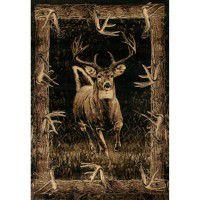 Running Deer Area Rugs