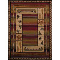 Sunset Canoe Area Rugs