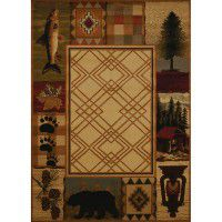 Mountain Lake Area Rugs