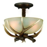 Yoho Faux Antler Ceiling Light