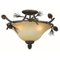 Sierra Semi-Flush Ceiling Light