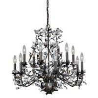 Crystal Trellis 12 Light Chandelier