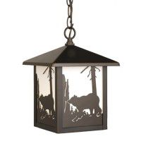 Bozeman Bear Outdoor Pendant