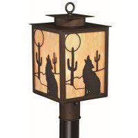 Desert Moon Post Light
