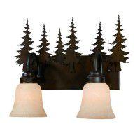 Yosemite Pine Tree Vanity Lights - 3 Sizes Available
