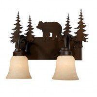Bozeman Bear Vanity Lights - 3 Sizes Available