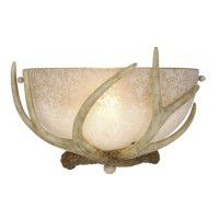 Lodge Antler Sconce