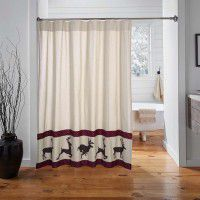 Wyatt Deer Shower Curtain