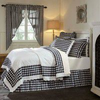 Annie Black Buffalo Check Quilt