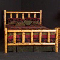 Alpine Log Bed