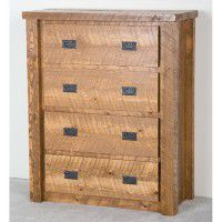 Northwoods Barnwood 4 Drawer Chest