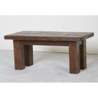 Northwoods Barnwood Rectangle Coffee Table
