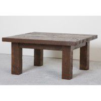 Northwoods Barnwood Square Coffee Table