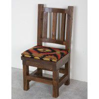 Northwoods Barnwood Upholstered Chair