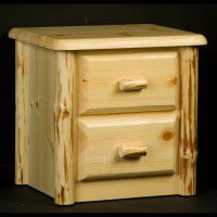 Wilderness Two Drawer Night Stand