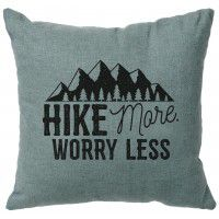 Hike More Linen Pillow (5 colors)