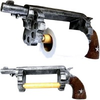 Pistol / Revolver Toilet Paper Holder