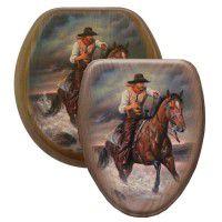 Cowboy Crossing Toilet Seats