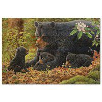 Crying Out Loud Bear and Cubs Wall Art