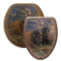Distant Thunder Buffalo Toilet Seats