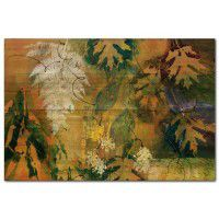 Maple Leaves and Fern Wall Art