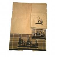 Woodville Rattan Towel Set