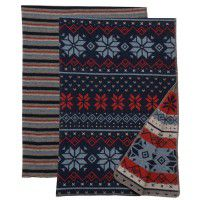 Nordic and Alpine Stripe Throws