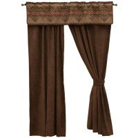 Bison Ridge Drapes and Valance