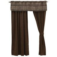 Heavenly Drapes & Lodge Lux Valance