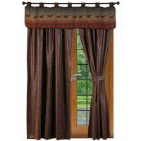 Stagecoach Drapes and Mustang Canyon Valance