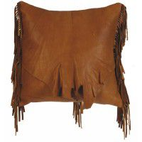 Bandera Leather Pillow