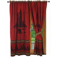 Pair of River Bear Drapes