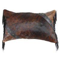 Cosmopolitan Leather Pillow
