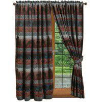 Deer Meadow Drapery w/Tie Backs