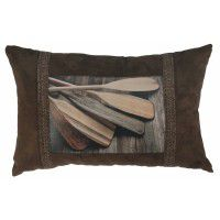 Lakeshore Paddles Pillow