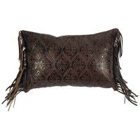 Gateway Leather Pillow