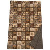 Silver Thicket Throw