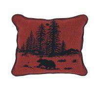 River Bear Accent Pillow