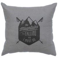 Mountains Calling Pillow