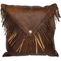 Harness Fringed Envelope Pillow