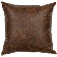 Ambush Leather Pillow