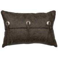 Saloon Leather Pillow