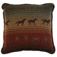 Mustang Accent Pillow