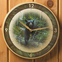 Black Ghost-Black Bear Clock - DISCONTINUED