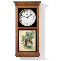 Pinecone Oak Regulator Clock
