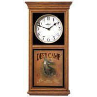 Deer Camp Oak Regulator Clock