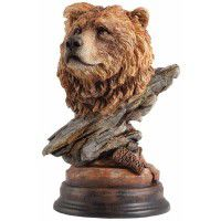 Bruin Brown Bear Sculpture