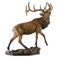 Majesty Elk Sculpture